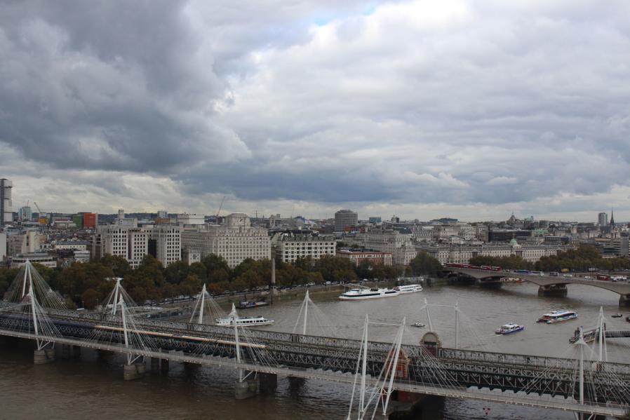 Le London Eye avec les enfants