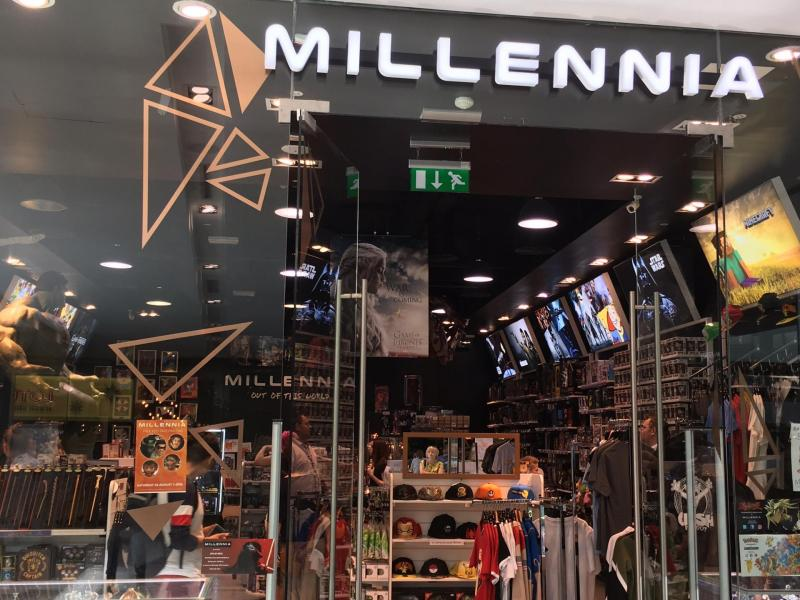 Millennia out of this world (shopping sci-fi pour petits et grands)