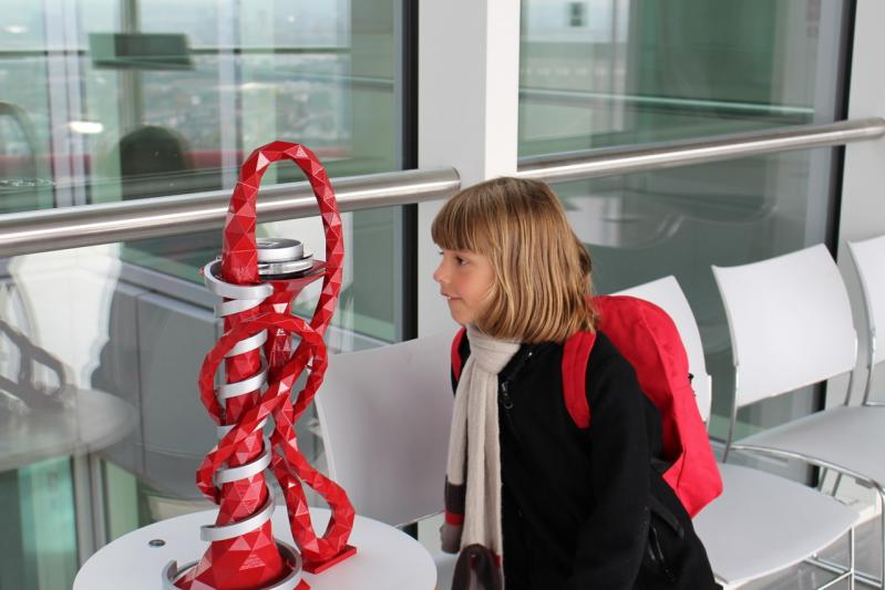 Arcellor Mittal orbit with kids