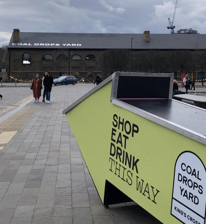Un nouveau quartier de Londres : Coal Drops Yard