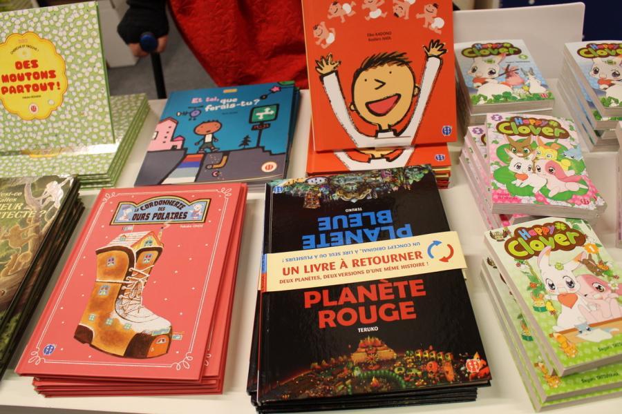 Nobi Nobi au salon du livre jeunesse