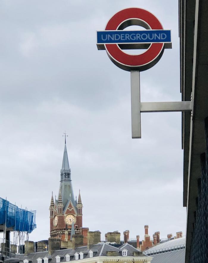 Prendre le métro à Londres avec des bagages