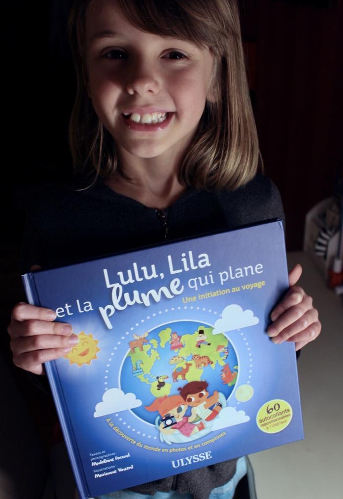 Week-end lecture # 130 :  Lulu, Lila et la plume qui plane - une initiation au voyage