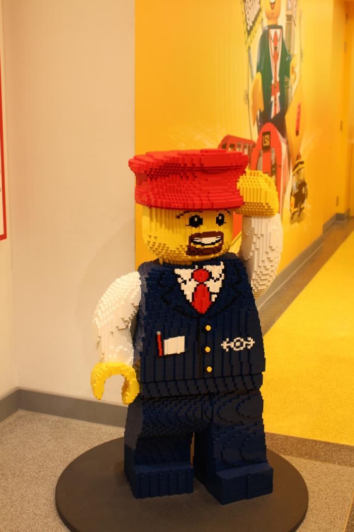 Balade au Lego store de Leicester Square