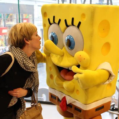Bob L'éponge au Nickelodeon Store