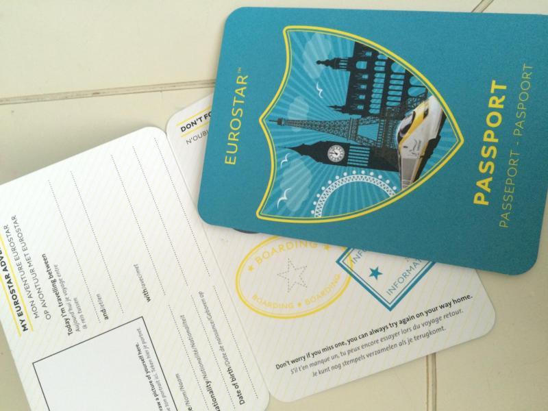 passeport eurostar