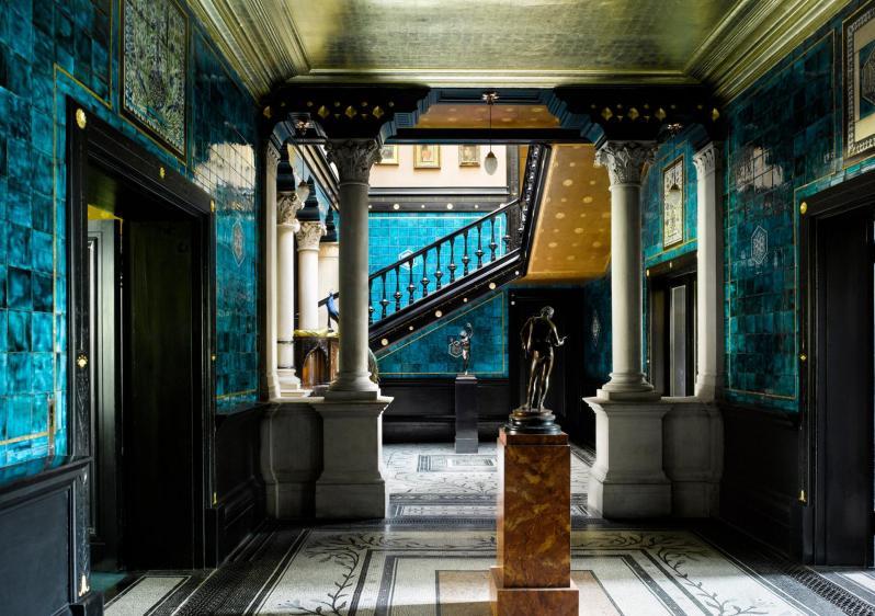 La Maison de Leighton, un palais d'orient au coeur de Londres ©will pryce 1