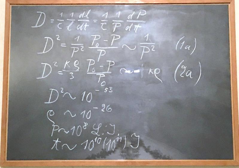 Tableau noir de Einstein à Oxford