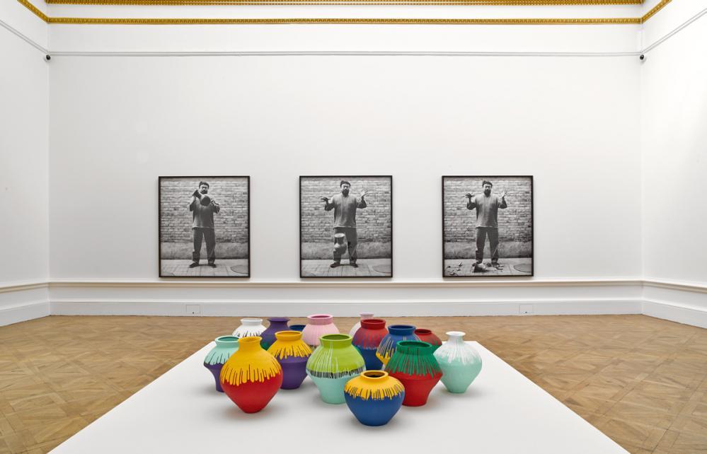 Ai Weiwei à la Royal Academy avec des enfants