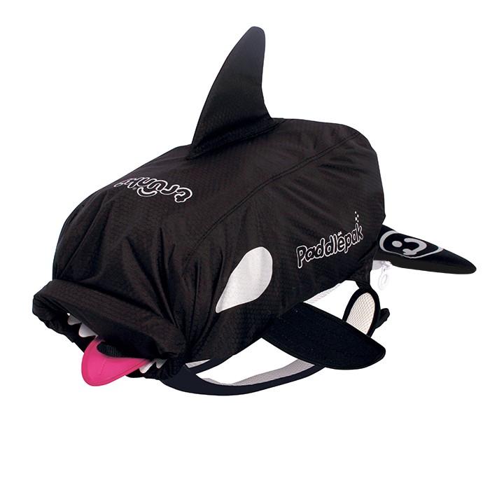 Paddlepak whale side black lr
