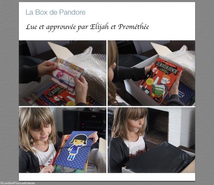 La Box de Pandore: test et avis