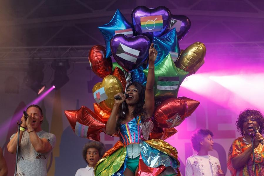 Pride in london 215 katy blackwood sinitta