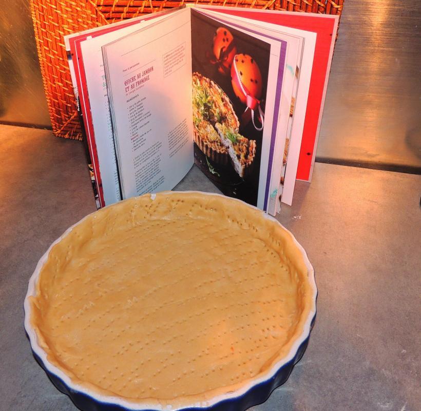 Quiche jambon fromage de jamie oliver londres 2