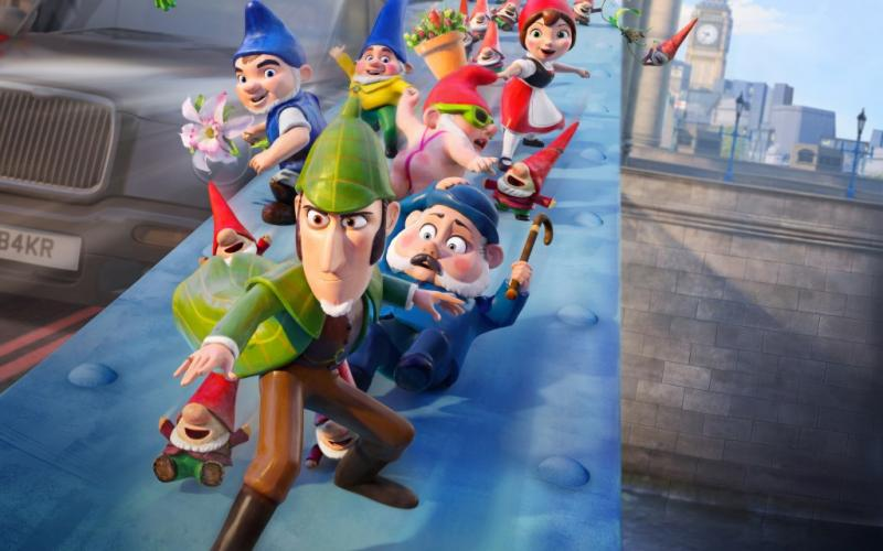 Sherlock gnomes 4k 2018 animation wide