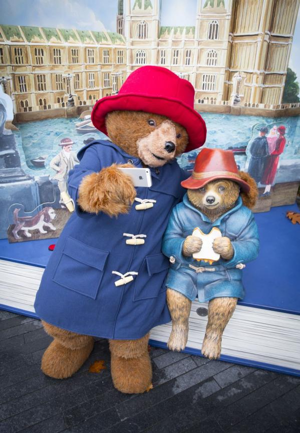 Paddington Bear Pop-up London