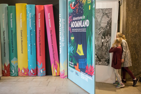 Southbank centres adventures in moominland credit vic frankowski