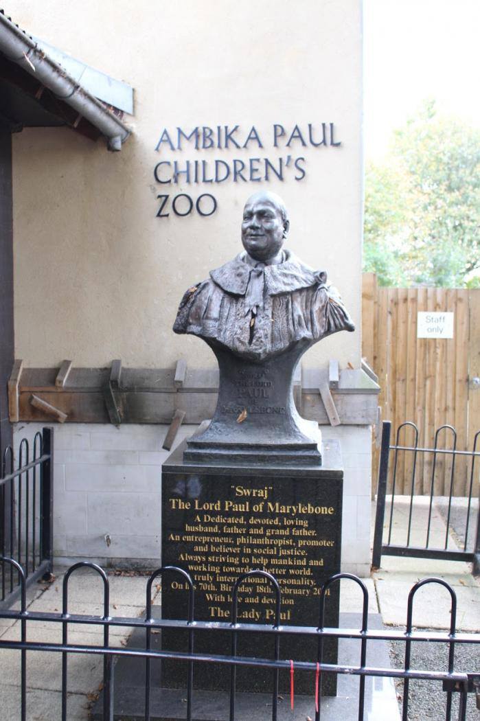 Balade au zoo de Londres