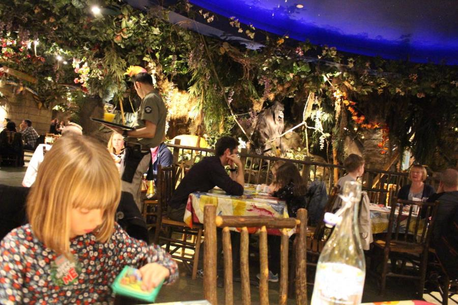 Rainforest Café London Avis
