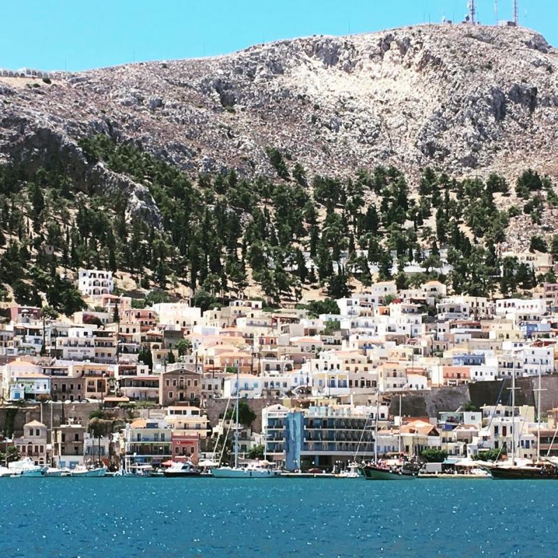 Kalymnos, l'île aux éponges