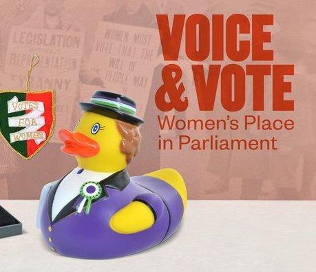 Voice & Vote : la Place des Femmes au Parlement (Exposition)