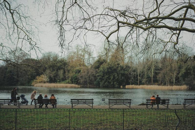 Balade à Battersea Park
